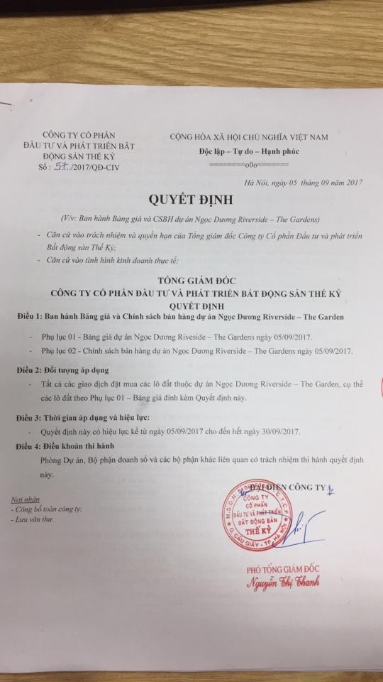 Ngoc Duong Riverside