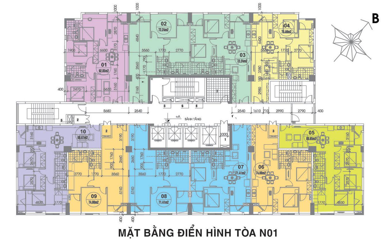 Chung cư 87 Lĩnh Nam