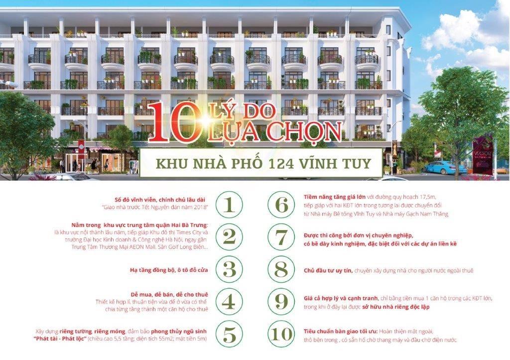 Shophouse 124 Vĩnh Tuy